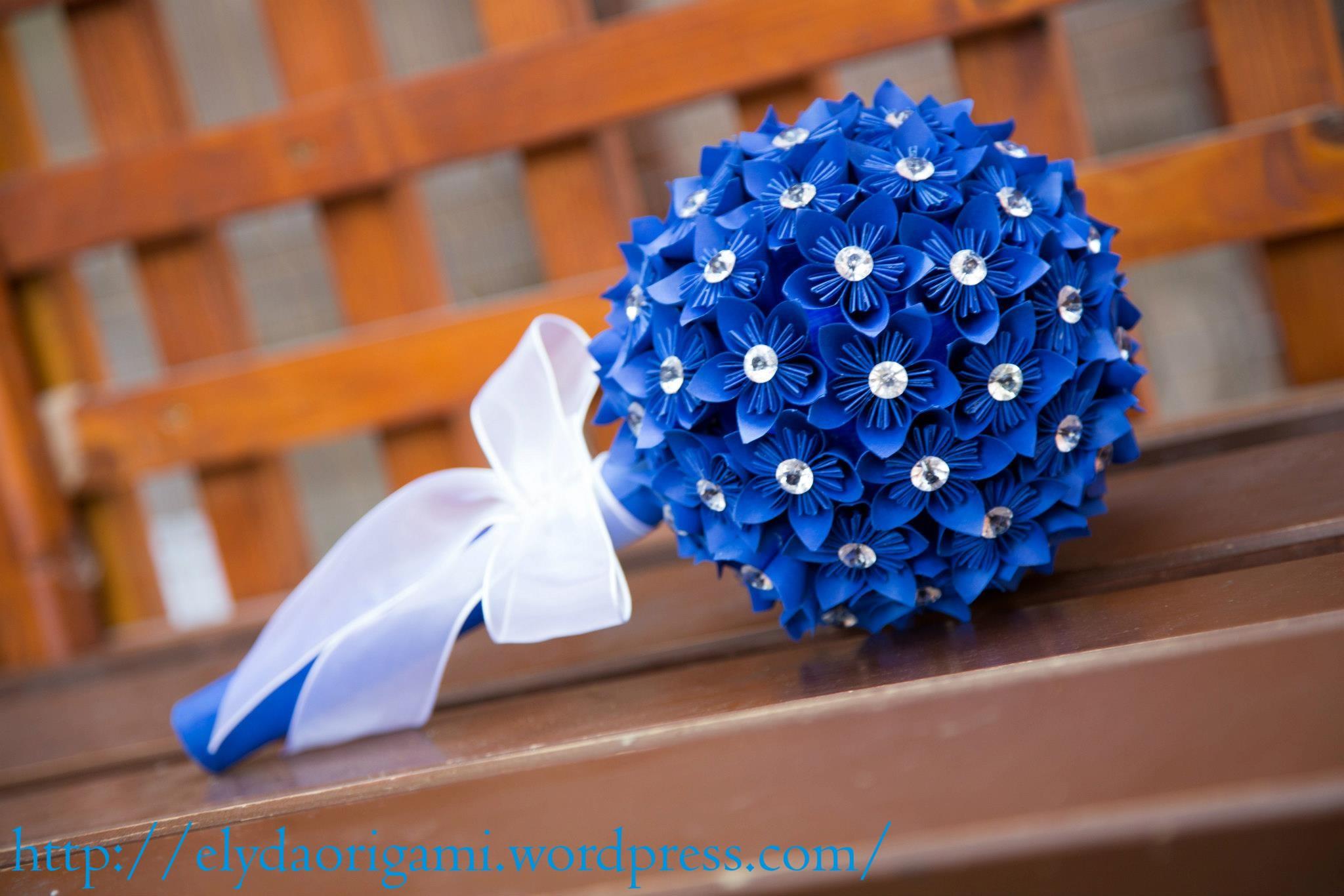 Buchet De Mireasa Origami Wedding Design